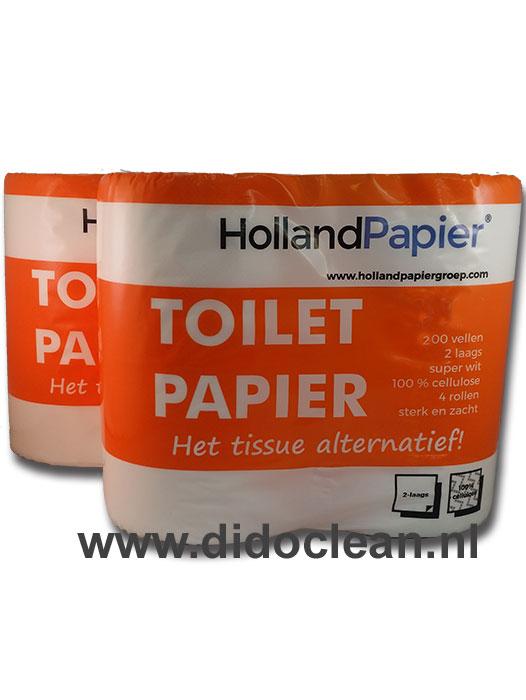 48 rollen Toiletpapier 200 vel per rol