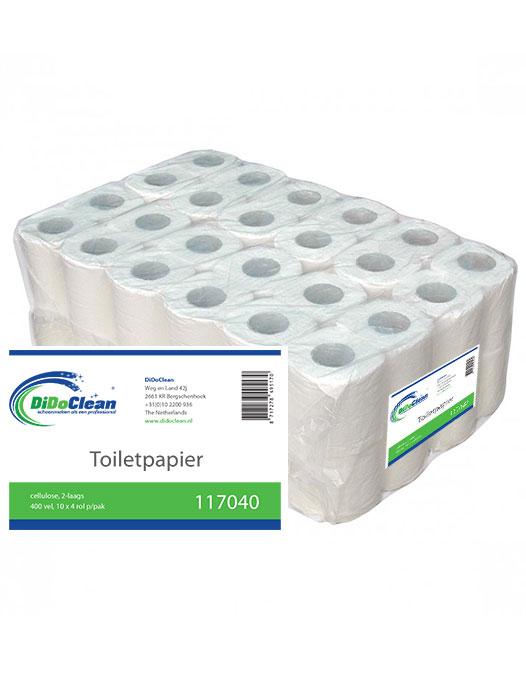 40 rollen Toiletpapier 400 vel per rol